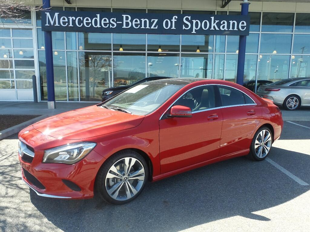 New 2018 Mercedes Benz Cla 250 Coupe In Liberty Lake Jn638464