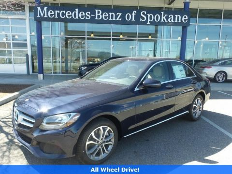 Pre-Owned 2018 Mercedes-Benz C-Class C 300 AWD 4MATIC®